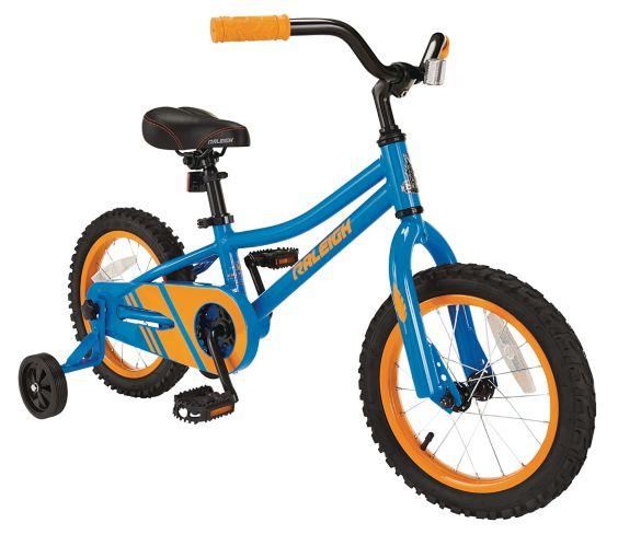 Vélo pour enfants Raleigh Rawr, bleu, 14 po Image de l'article