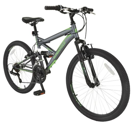 Supercycle Outlook Dual Suspension Mountain Bike, 24-in Product image