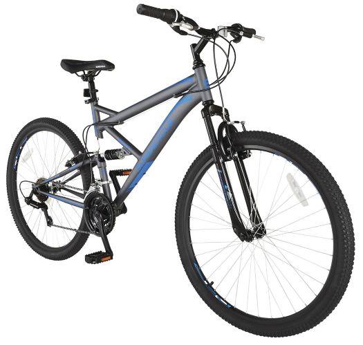 Vélo de montagne Supercycle Outlook, double suspension, bleu/gris, 27,5 po Image de l'article