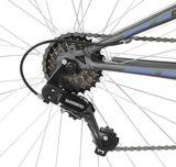 Vélo de montagne Supercycle Outlook, double suspension, bleu/gris, 27,5 po | Supercyclenull