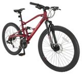 Vélo de montagne Raleigh Chase, double suspension, 26 po, rouge | RALEIGHnull