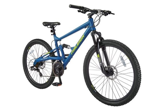 Raleigh Tracker Dual Suspension Mountain Bike, Blue, 27.5-in Product image