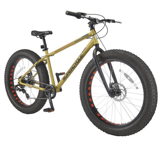 Supercycle Big Rig 4.0 Fat Tire Hardtail Mountain Bike, 26-in