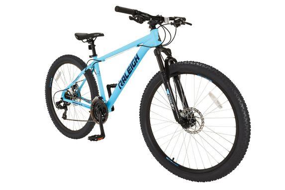 Vélo de montagne Raleigh Summit, suspension avant, 27,5 po, bleu pâle