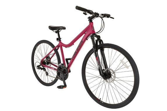 Vélo hybride Raleigh Encounter, 700C, framboise