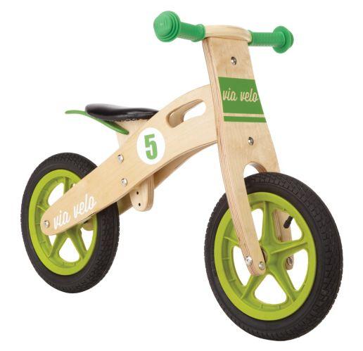 Vélo d'équilibre Via Velo fini bois