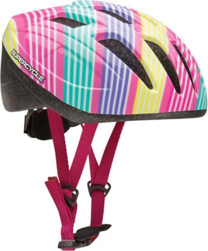 Supercycle Crosstrails Bike Helmet, Child, Stripes