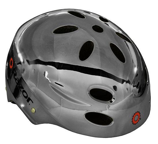Razor Chrome Bike Helmet, Youth Product image