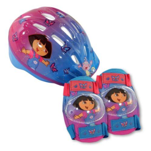 Casque Dora l'exploratrice avec protecteurs, bambins Image de l'article