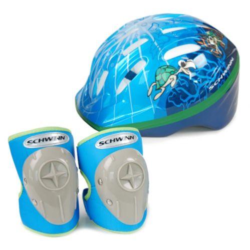 Casque vélo microcoque Schwinn à protecteurs/cloche, bambins