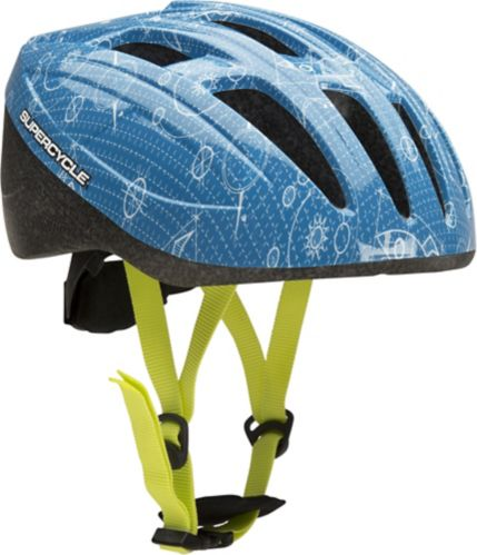 Supercycle Crosstrails Bike Helmet, Child, Blue Product image