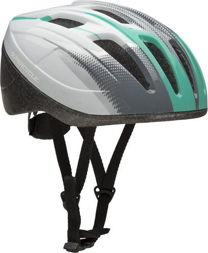 Casque de vélo Supercycle Crosstrails, blanc et vert Image de l'article