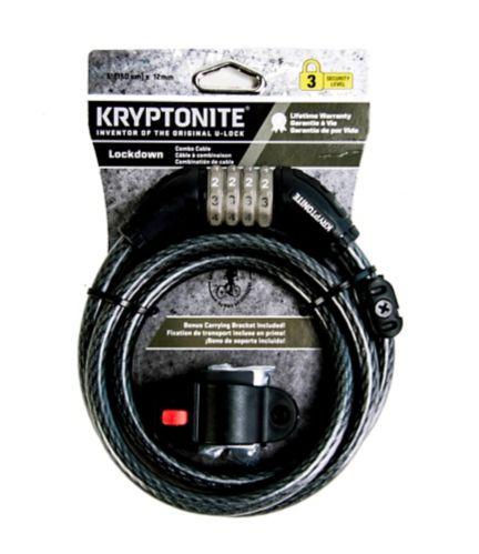 Kryptonite Combination Bike Lock, 12 mm x 5-ft Product image