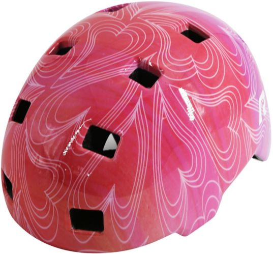 Raleigh Scout Multi-Sport Bike Helmet, Child, Heart Product image