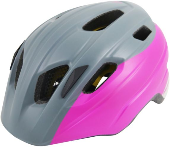 Raleigh Venture MIPS Bike Helmet, Youth, Grey/Pink Product image