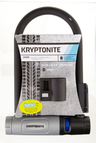 Kryptonite Oversized Bike U-Lock, 8-in Product image