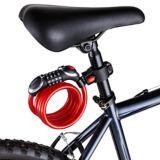 Schwinn Steel Braided Combination Light Cable Bike Lock, 5-ft