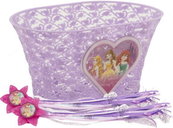 Disney Princess Kids' Bike Basket Product image