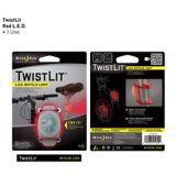 Nite Ize LED TwistLit Bike Light, Red | Nite Izenull
