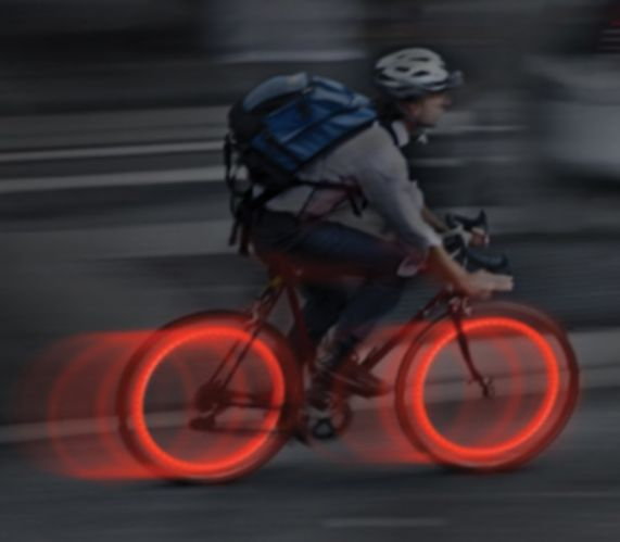 Nite Ize See'Ems Mini Spoke Lights, Red Product image