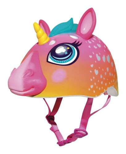Raskullz Super Rainbow Unicorn Multi-Sport Bike Helmet, Child
