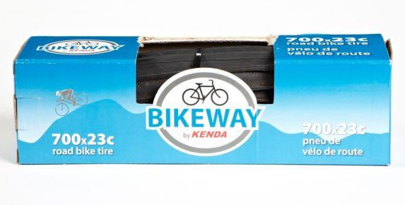 Supercycle Bikeway by Kenda K191 Road Bike Tire, 700 x 23C Product image