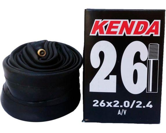 Kenda 26X2.0/2.4-in A/V Schrader Valve Standard Bike Tube Product image