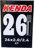 Kenda 26X2.0/2.4-in A/V Schrader Valve Standard Bike Tube   Kendanull