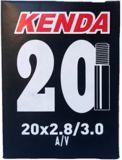 Kenda 20X2.8/3.0-in A/V Schrader Valve Standard Bike Tube | Kendanull