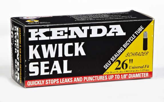 "Kenda 26X1.9/2.125"" A/V Schrader Valve Sealant Bike Tube Product image"