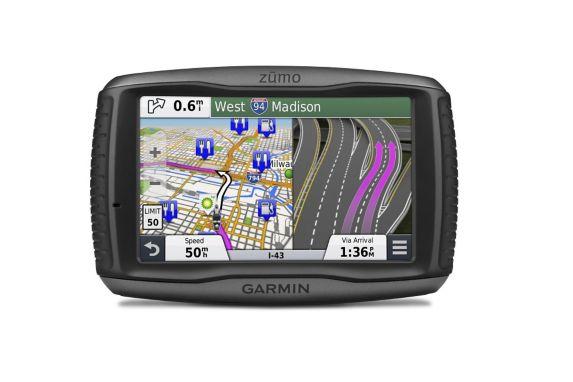 Garmin ZUMO 590LM Motorcycle Car GPS Navigator Product image