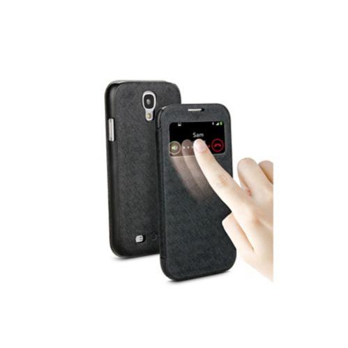 Étui portefeuille Muvit pour Samsung Galaxy S4, noir