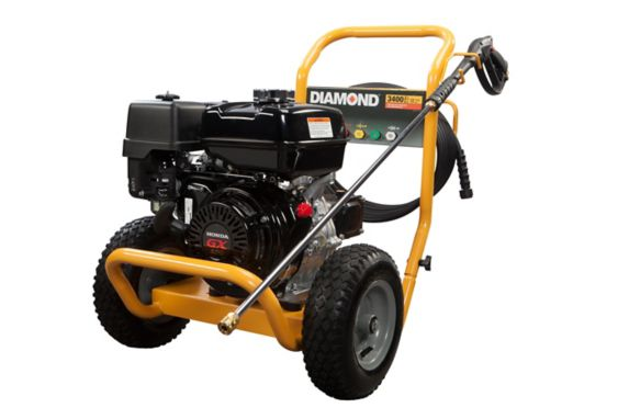 Diamond 3400 PSI Pressure Washer