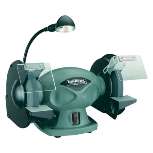 General® International Low-Speed Sharpening Grinder, 6-in Product image