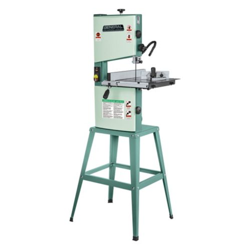 General® International Wood-Cutting Band Saw  with Stand, 10-in