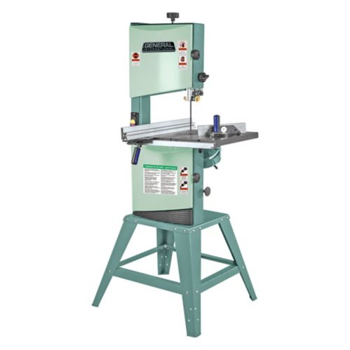 General® International Wood-Cutting Band Saw With Stand, 12-in Product image