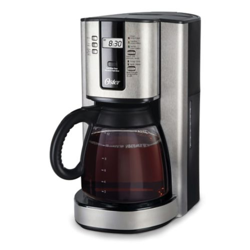Oster® Programmable Coffee Maker, Stainless Steel, 12-Cup Product image