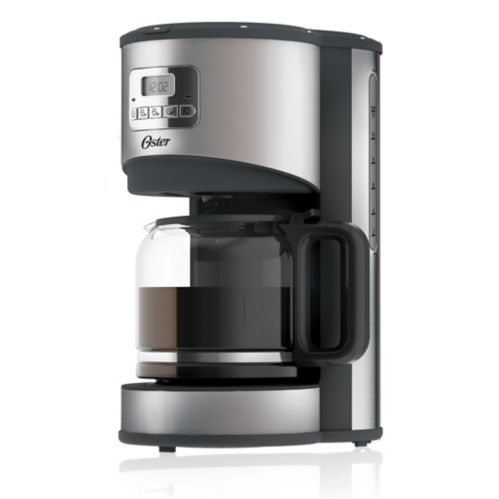 Oster® Opula Programmable Coffee Maker, Stainless Steel, 12-Cup