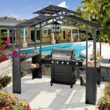 Abri de jardin à toit rigide Sunjoy Wakewood