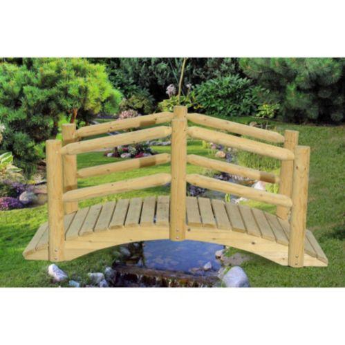 Sunjoy Merriman Wood Garden Bridge Product image
