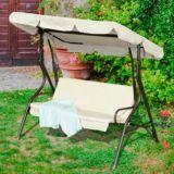Sunjoy Magnifique Three-Seat Swing