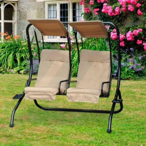 Sunjoy Normandy Two-Seat Swing