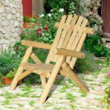 Sunjoy Merriman Wood Chair