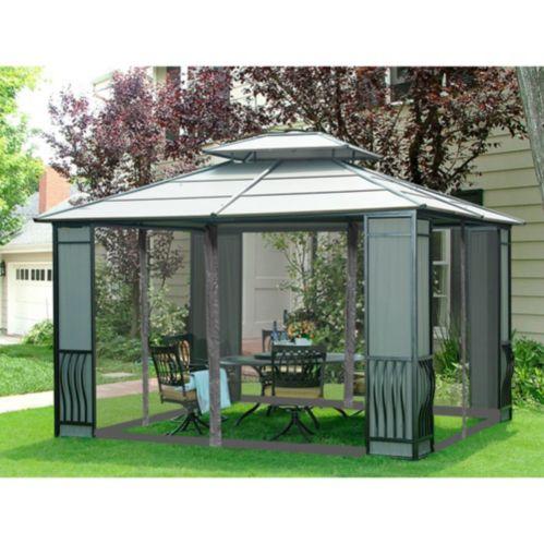 Sunjoy Universal Netting for Gazebo, 10 x 12-ft Product image