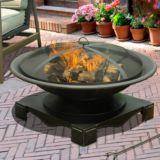 Sunjoy Bellham Steel Fire Pit, 35-in | Sunjoynull