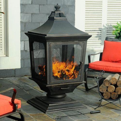 Sunjoy Bernese Outdoor Fireplace