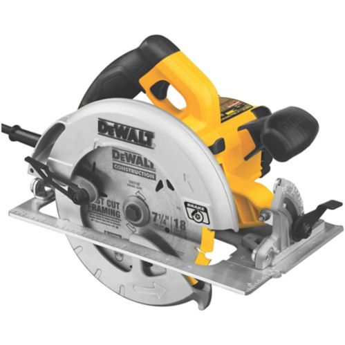 DEWALT 15A Circular Saw with E-Brake, 7-1/4-in Product image