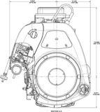 Briggs & Stratton Tractor Engine, 17.5hp | Briggs & Strattonnull