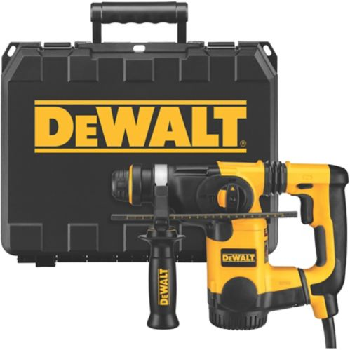 DEWALT 8A L-Shape Rotary Hammer Drill with SDS+, 1-in Product image
