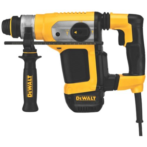 DEWALT 9A Combination Hammer Drill with SDS+ and E-Clutch, 1-1/8-in